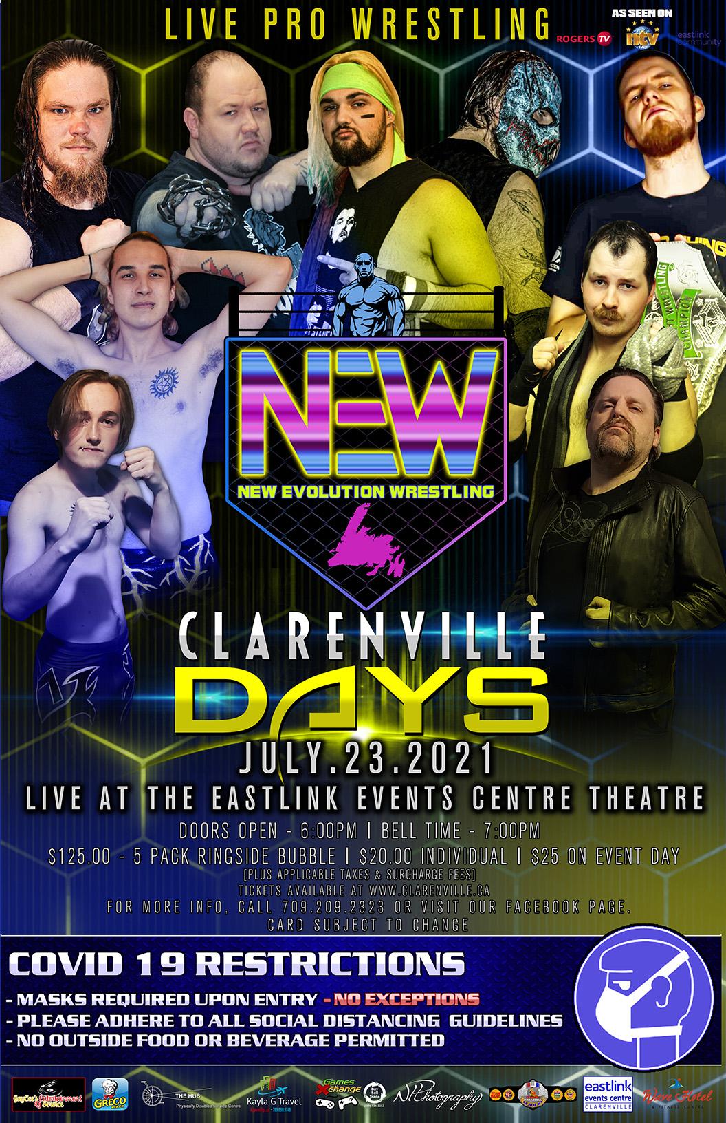 New Evolution Wrestling - Clarenville Days